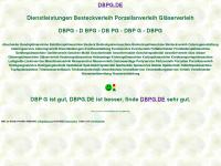 dbpg.de Webseite Vorschau