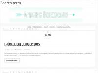 amazingbookworld.blogspot.com Webseite Vorschau