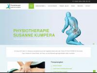 physiotherapie-kumpera.at Webseite Vorschau