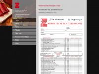 zuberag.ch Webseite Vorschau