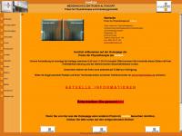 physiotherapie-jensurski.de Webseite Vorschau