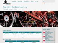 bayerisches-eisenbahnmuseum.de