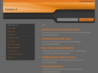 kipapa.it Webseite Vorschau