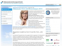 zahnzusatzversicherungen-test.de