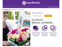 euroflorist.com Webseite Vorschau