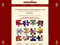 ama-deus.net Webseite Vorschau