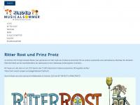 kindermusical-sommer.at Webseite Vorschau