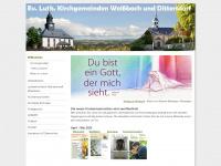 kirche-weissbach.de Webseite Vorschau