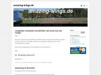 amazing-wings.de Webseite Vorschau