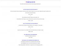kindermund.info Webseite Vorschau