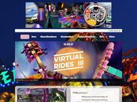 kirmes-rides.net Webseite Vorschau
