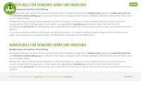 zumhund.ch Webseite Vorschau