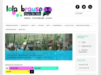 lolabrause.ch Webseite Vorschau