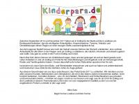 kinderpara.de Webseite Vorschau