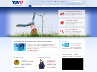 tuev-thueringen.de Webseite Vorschau
