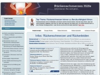 rueckenschmerzenhilfe.com