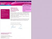 kindersportstiftung.com Webseite Vorschau