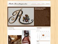 treppenbau-rädler.de Webseite Vorschau