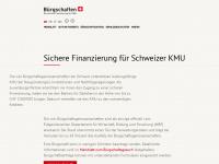 kmu-buergschaften.ch