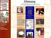 minnesang.com
