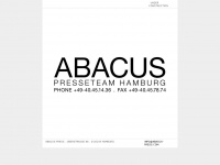 abacus-press.de Webseite Vorschau