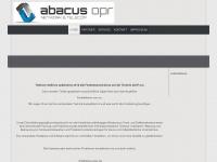 abacusopr.de Webseite Vorschau