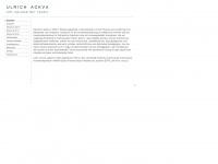 ackva-architekt.de Webseite Vorschau