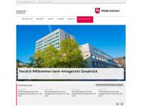 amtsgericht-osnabrueck.niedersachsen.de Webseite Vorschau