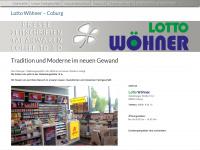 lotto-woehner.de Webseite Vorschau
