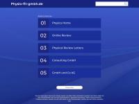 physio-fit-gmbh.de Webseite Vorschau