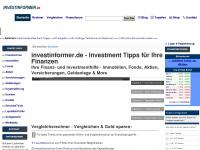 investinformer.de Webseite Vorschau