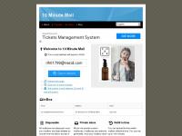10minutemail.net Webseite Vorschau