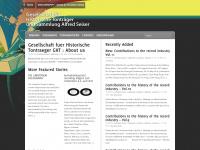 phonomuseum.at Webseite Vorschau