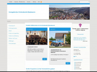 kirchenbezirk-blaubeuren.de Webseite Vorschau