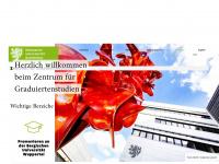 zgs.uni-wuppertal.de Webseite Vorschau