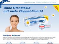 aminomed.de Webseite Vorschau