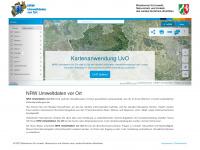 uvo.nrw.de Webseite Vorschau