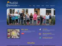 kindernest-sterntaler.de Webseite Vorschau