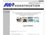am-konstruktion.de Webseite Vorschau