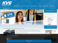 kvg-braunschweig.de Webseite Vorschau