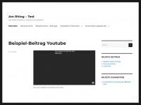 am-rhing.de Webseite Vorschau