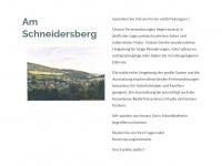 am-schneidersberg.de Webseite Vorschau