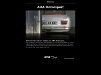 ama-motorsport.de Webseite Vorschau