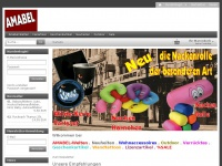 amabel.de Webseite Vorschau