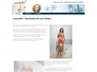 amabelle.eu Webseite Vorschau