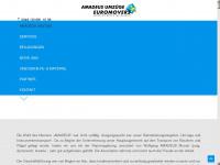 amadeusumzuege.de Webseite Vorschau