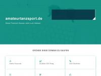 amateurtanzsport.de Webseite Vorschau