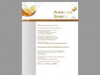 amazing-spirits.de Webseite Vorschau