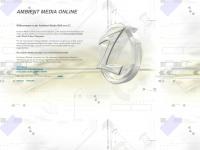 ambient-media-online.de Webseite Vorschau