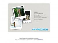 ambient-shop.de Webseite Vorschau
